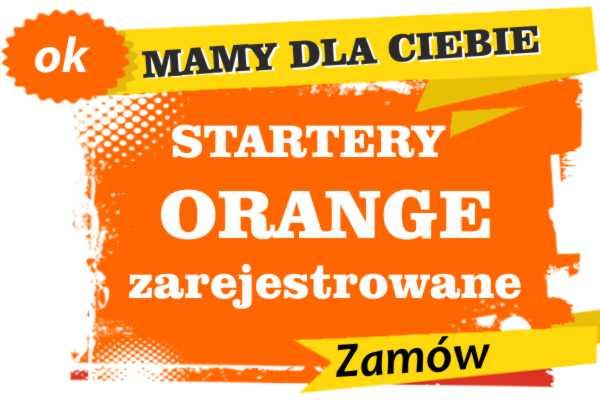 Sprzedam zarejestrowane karty sim orange Wodzisław Śląski  zadzwoń 887 332 665